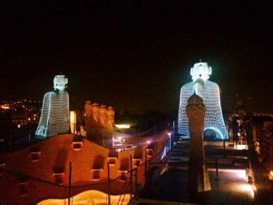 The Midnight Tour at La Pedrera