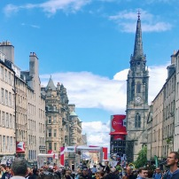 A Month in Edinburgh