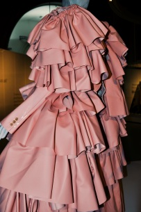 Pink coat by Rei Kawakubo